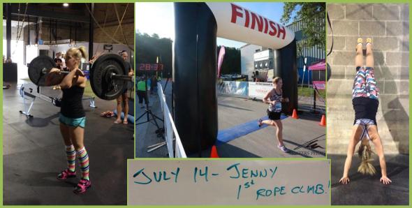 Jenny collage