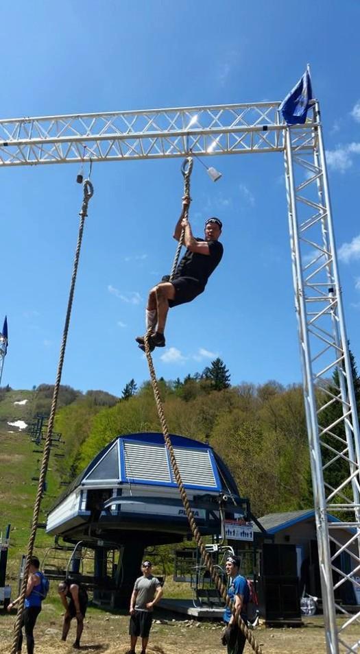Rob rope climb